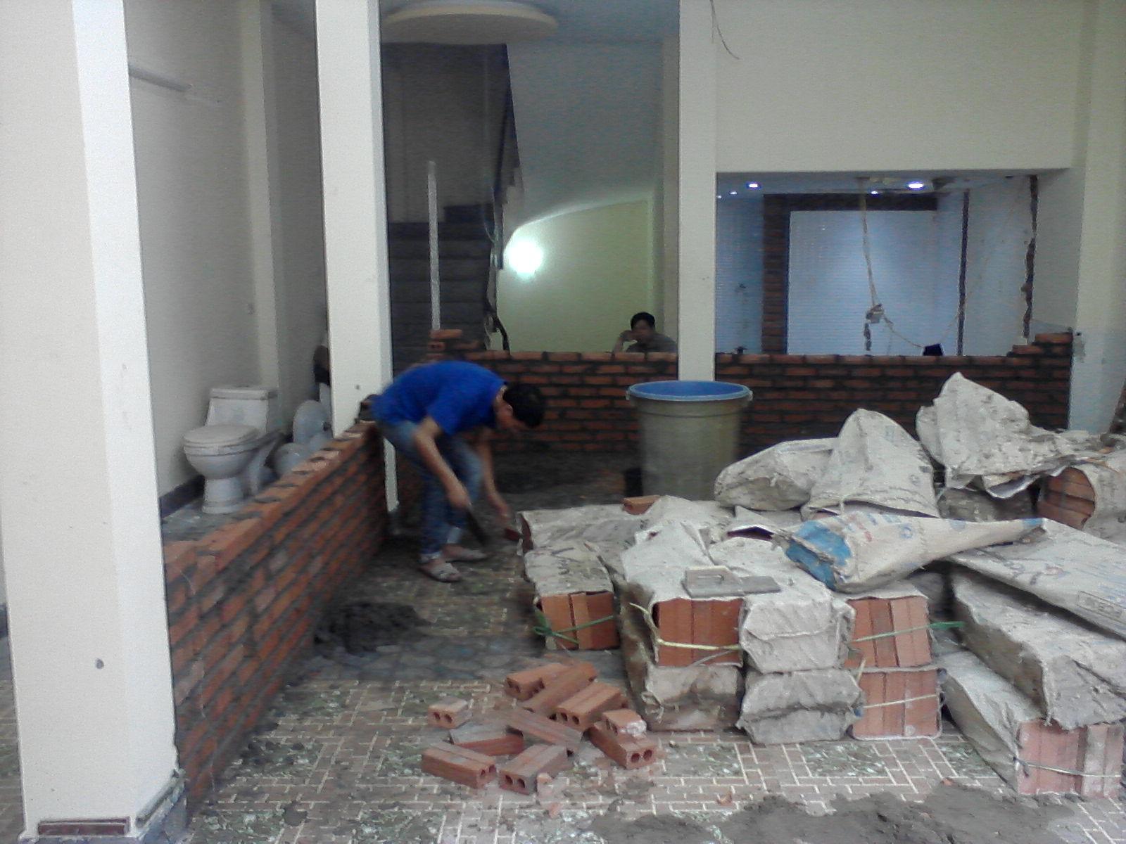 Dịch vụ sửa chữa nhà Chung cư tại Hà Nội